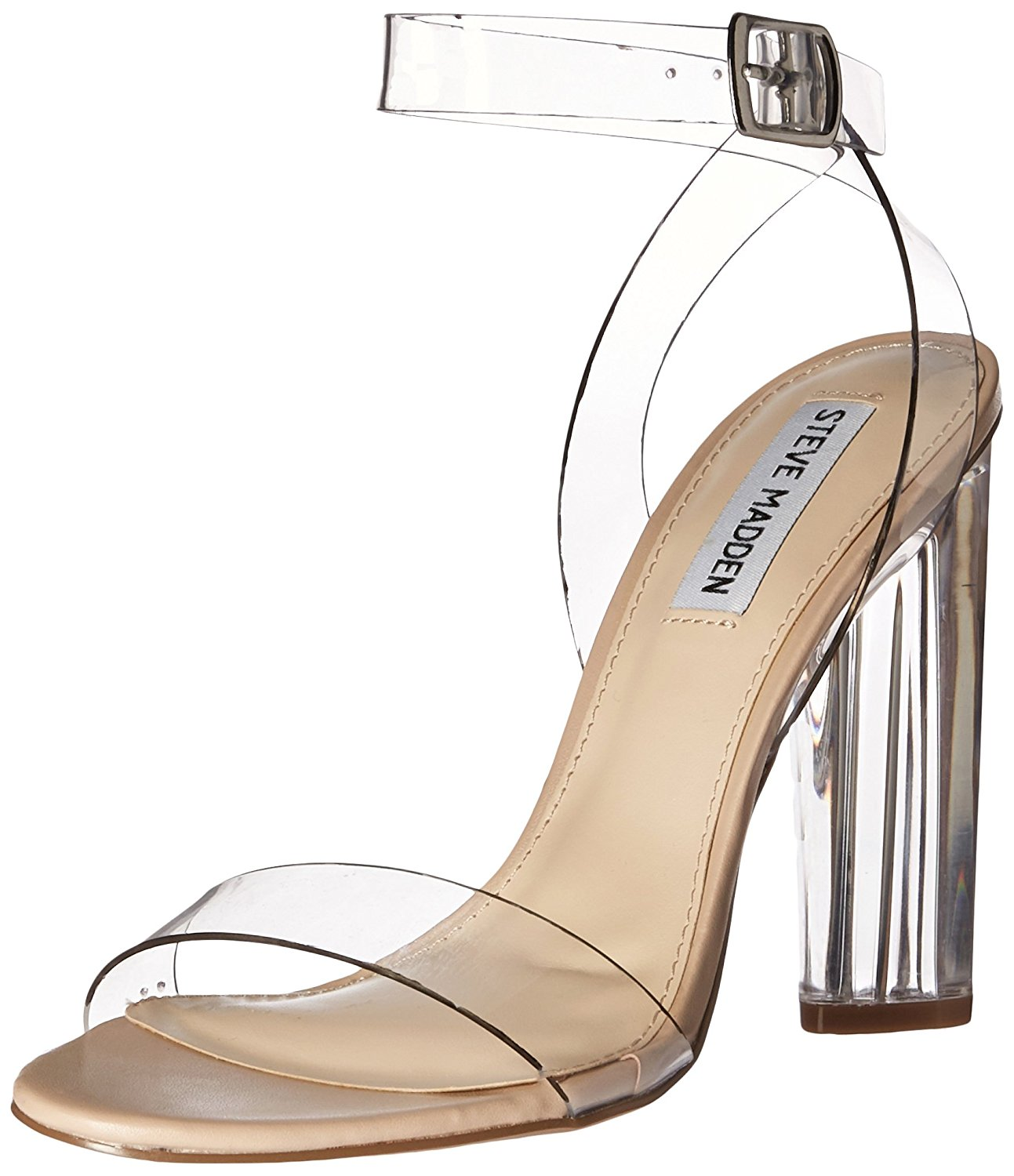 Steve Madden Womens Teena Open Toe Special Occasion Ankle Strap ...
