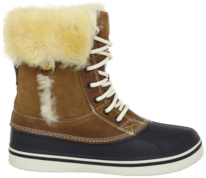 e60878cde74a2 Crocs Allcast luxe Womens Boots Hazelnut/Stucco 5.5 US / 3.5 UK   eBay