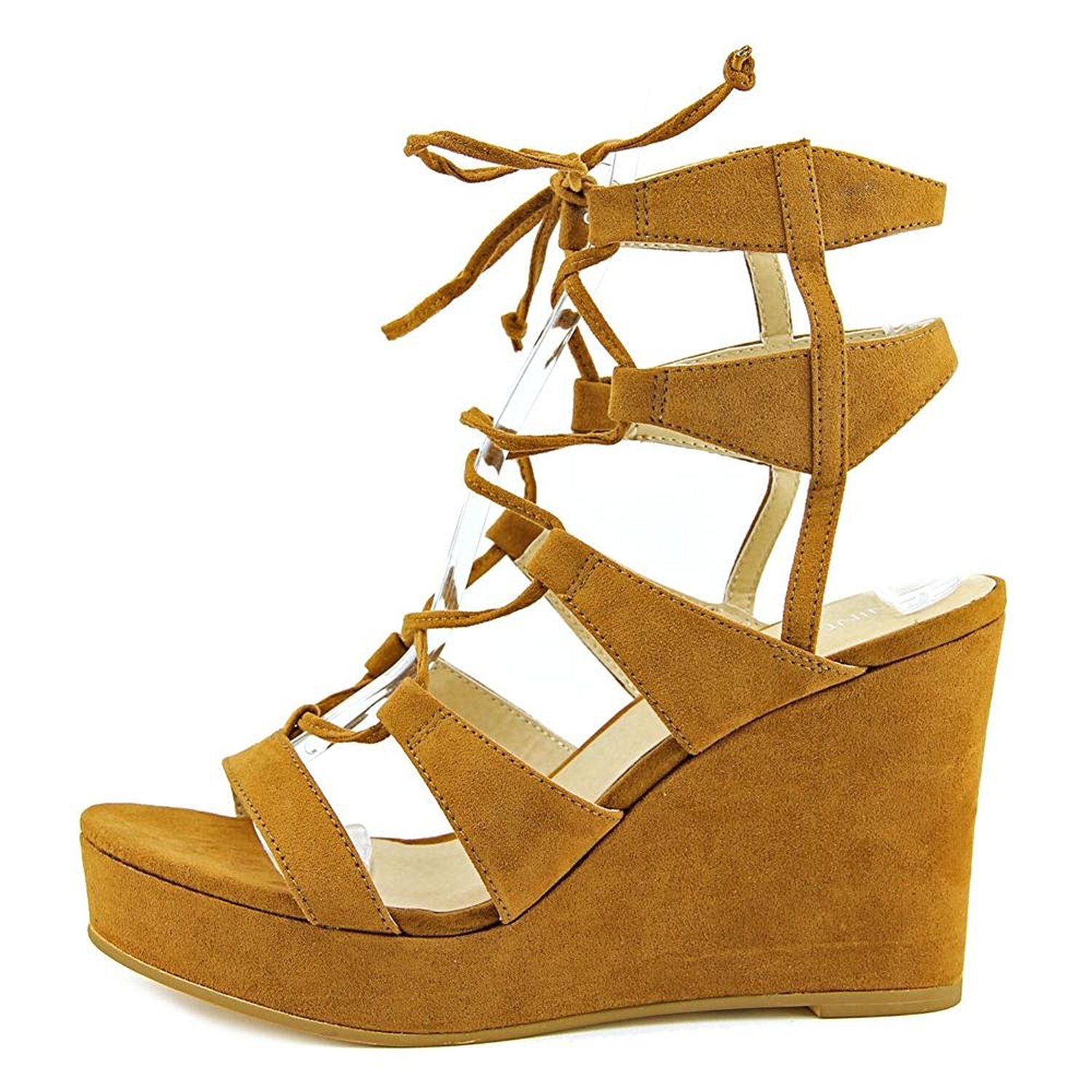 28e79d3296a3 Nine West Womens Kaliope50 Open Toe Casual Platform Sandals 1 of 5Only 5  available ...