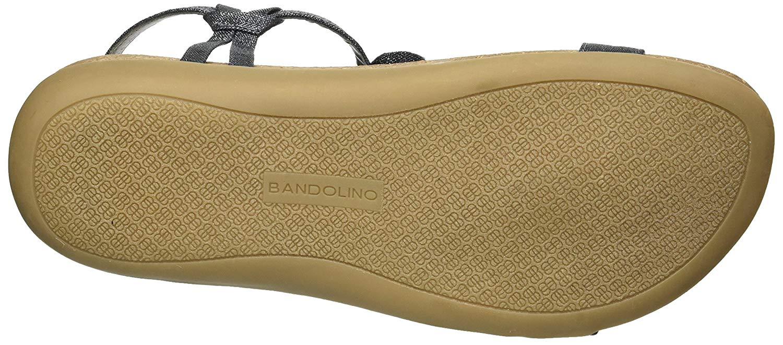 3f3d243cdba96 Bandolino Womens Hamper Open Toe Casual T-Strap Sandals
