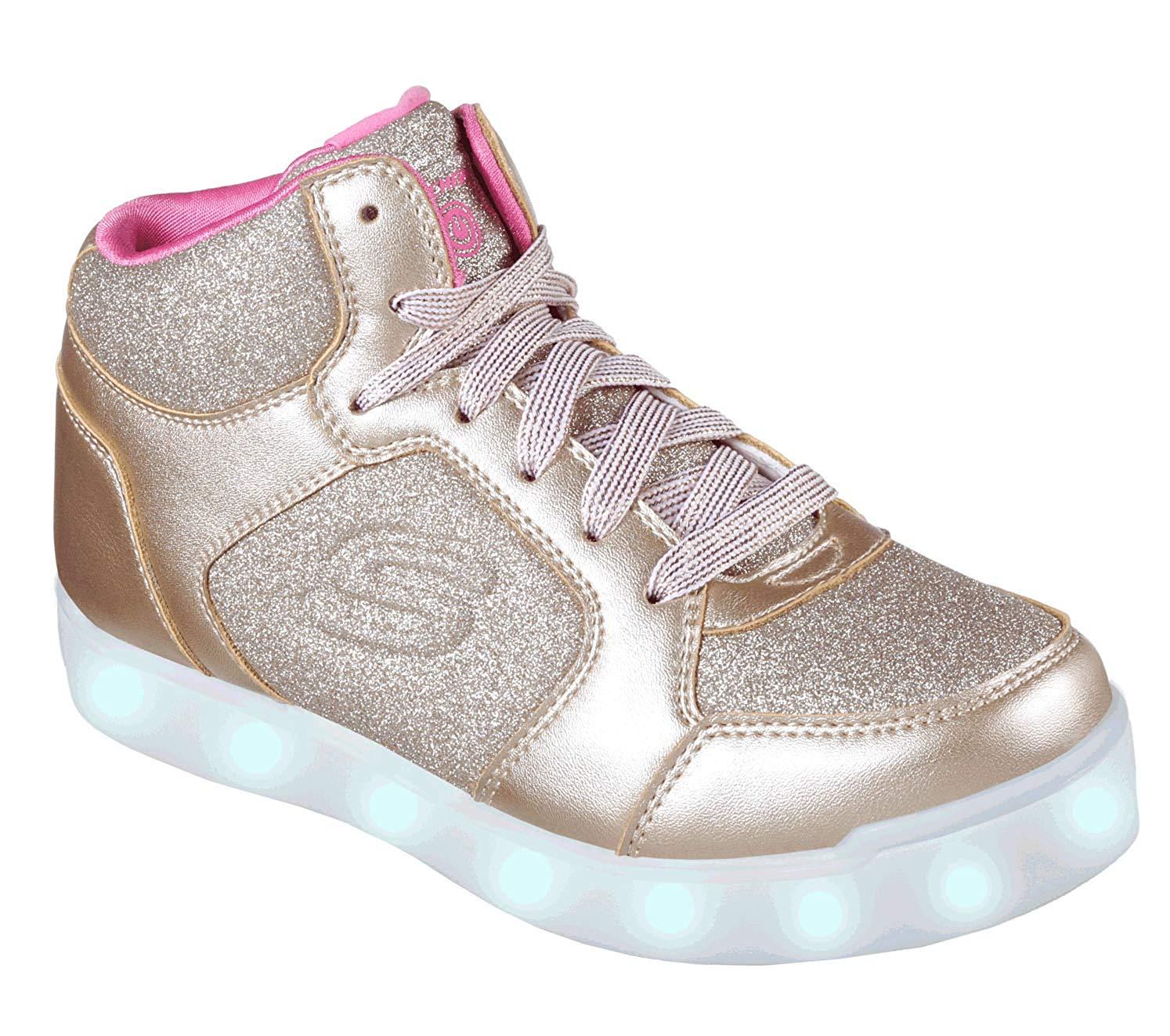Skechers Kids' E-Pro Sneaker, Gold