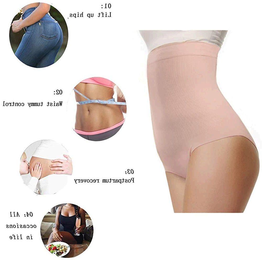 DREAM SLIM Womens High-Waist Seamless Body, Nude, Size X