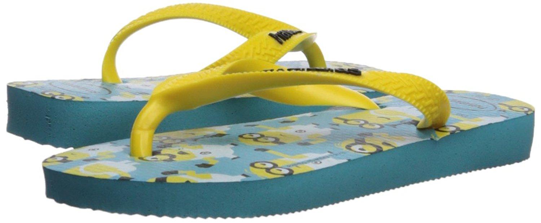 3764e882e59e Kids Havaianas Girls minions Slip On T-Strap Flip Flops