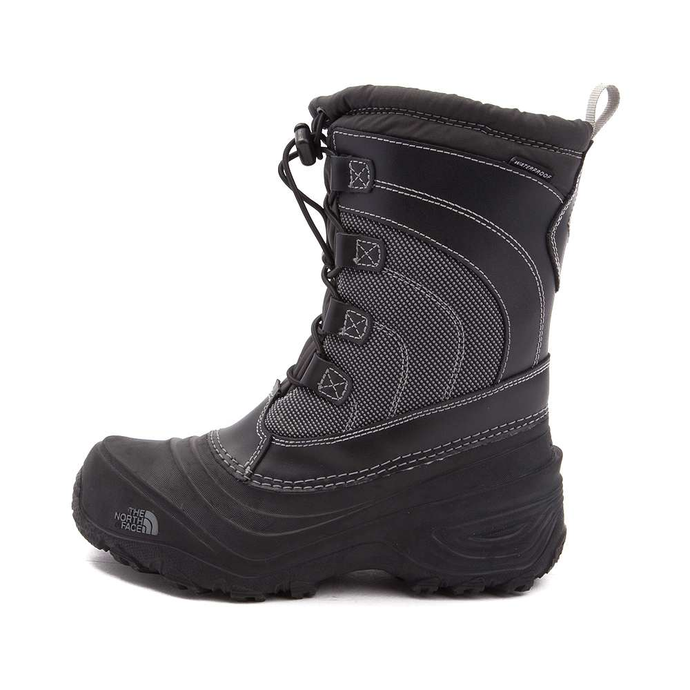 The IV North Face Girls Alpenglow IV The Mid-Calf Pull On Snow, Nero, Size 1 M US 5caf97