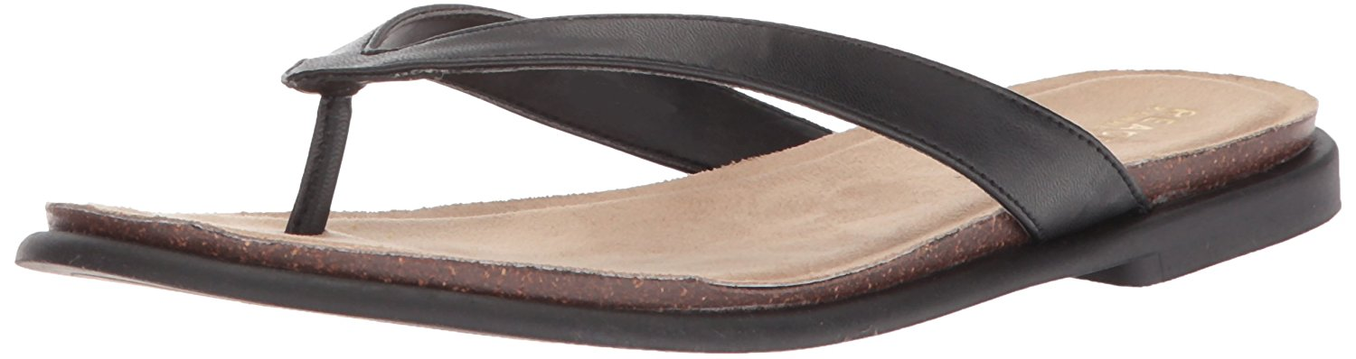 f7c75c58d Kenneth Cole REACTION Women s Jel Ing Flat Thong Sandal with