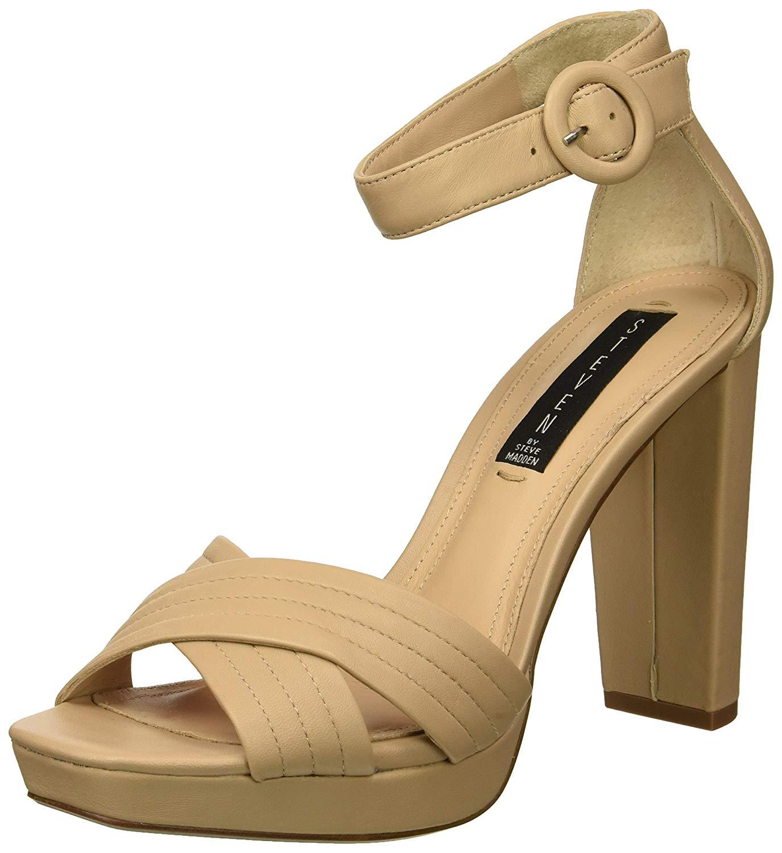 4927de2e10d2 STEVEN by Steve Madden Women's Ravena Heeled Sandal   eBay