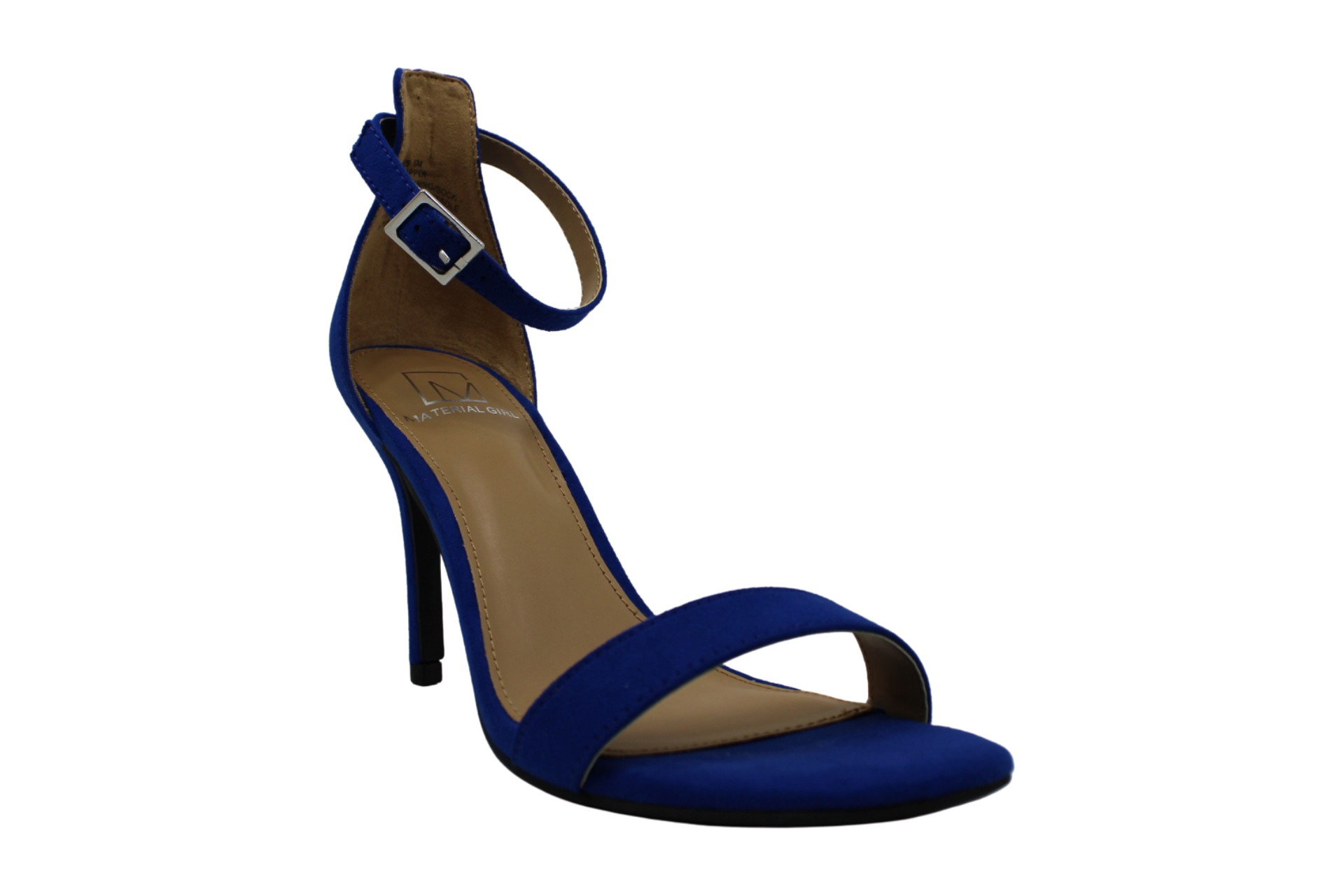 Material Girl Womens Blaire4 Fabric Open Toe Special