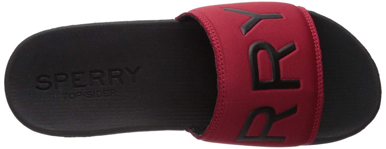 a04cb4959 Sperry Men's Intrepid Slide Sandal, Red/Black, Size 7.0 | eBay