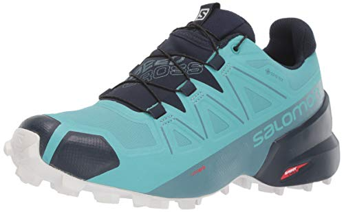 Details about Salomon Women's Speedcross 5 GTX Trail Running Shoes, White, Size 7.5 VIor