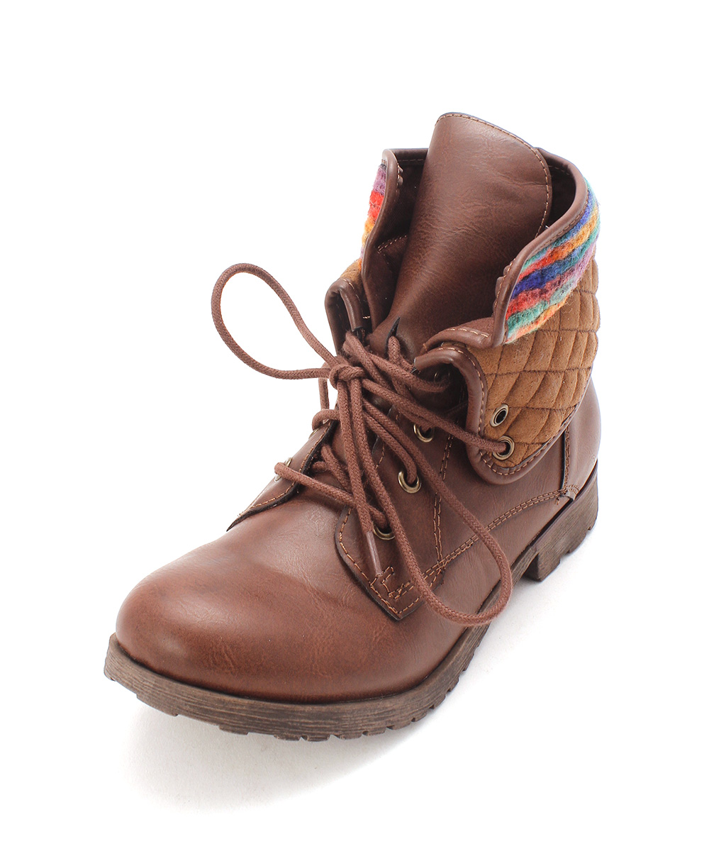 Womens Spraypaint-Q Closed Toe Ankle Fashion Boots