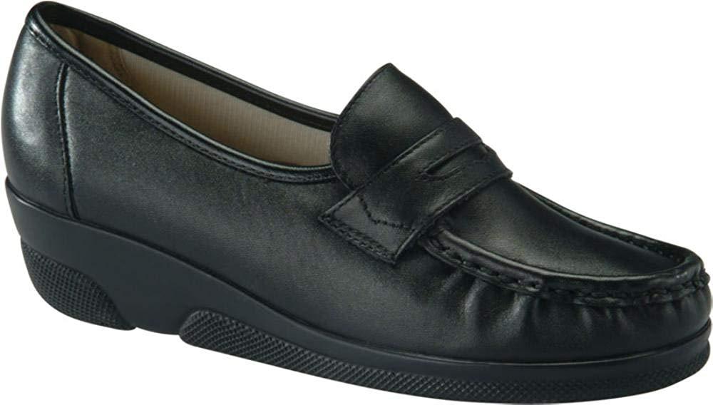 women Softspots shoes Loafer color black Black size 39 EU   8 US