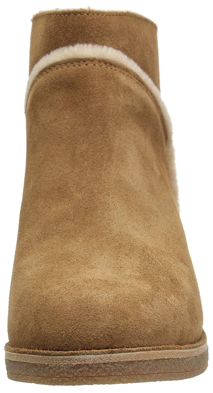 6cc4ea904bc Details about Ugg Australia Womens Kasen Closed Toe Ankle Cold Weather,  Chestnut, Size 9.0 XzT