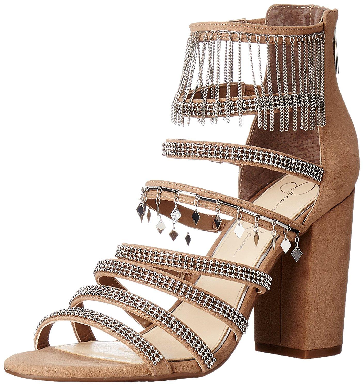 Jessica Simpson mujeres abierta katalena dedo del pie ocasión especial con tiras sandalias B