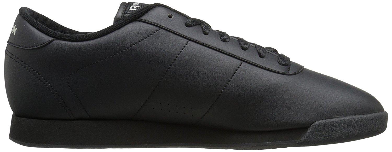 bdd0bb5ed8b2f8 Reebok Princess Classic Womens Athletic Shoes Black 9.5 US   7.5 UK ...
