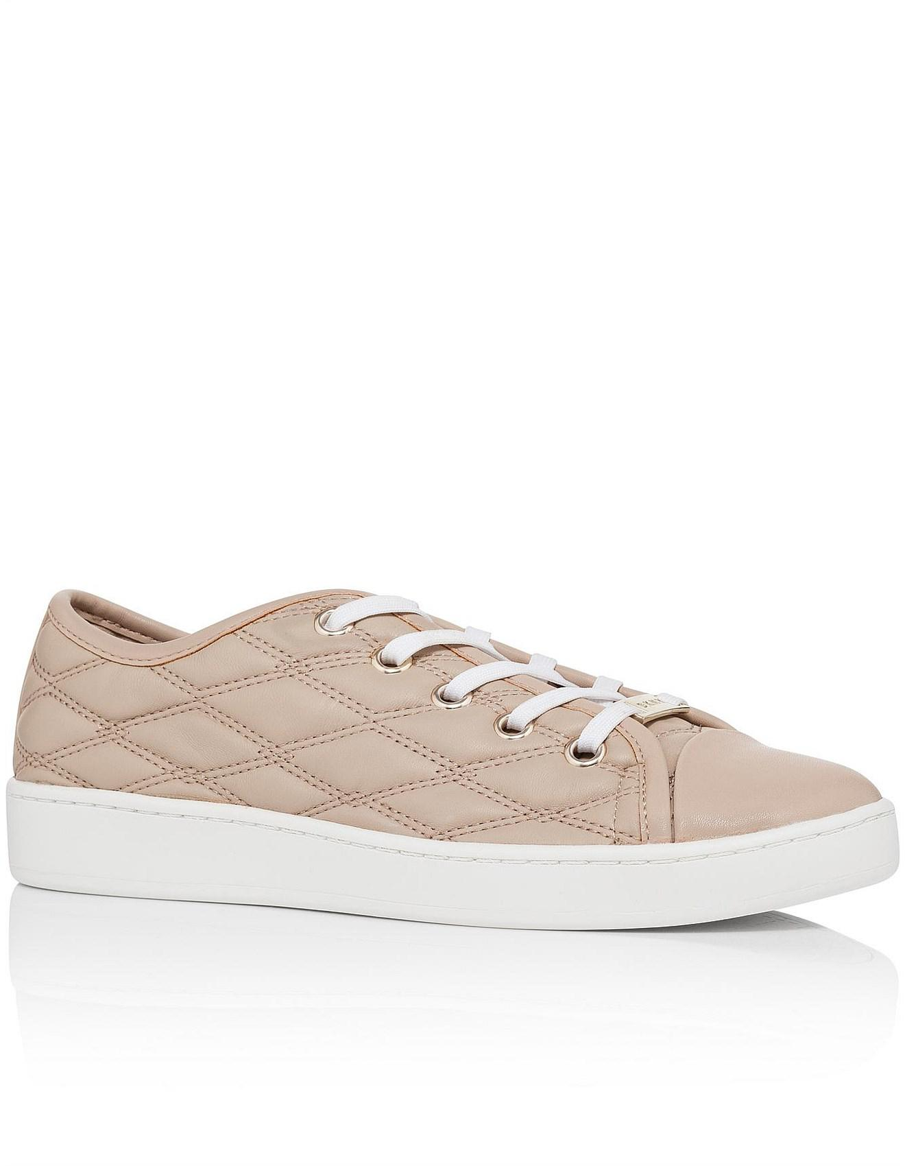 the best attitude first look best authentic DKNY Womens Brayden Binding Court Sneaker Leather Low Top Lace Up ...