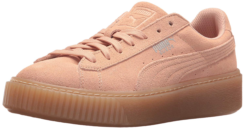 3e4b4409e31 Kids PUMA Girls jewel Suede Low Top Lace Up Fashion Sneaker