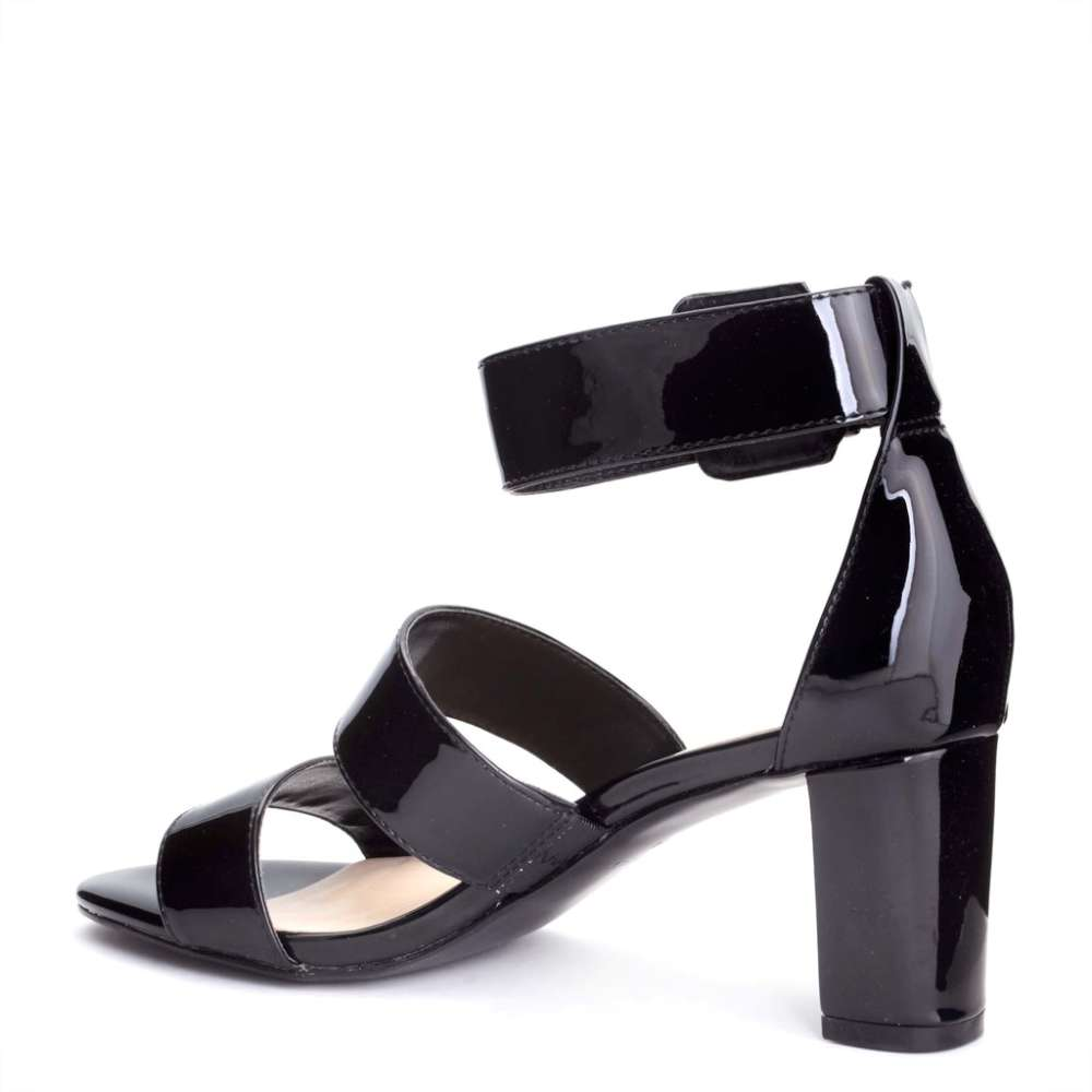 Nine West Womens 8patience Open Toe Casual Slingback Sandals Black Size 70