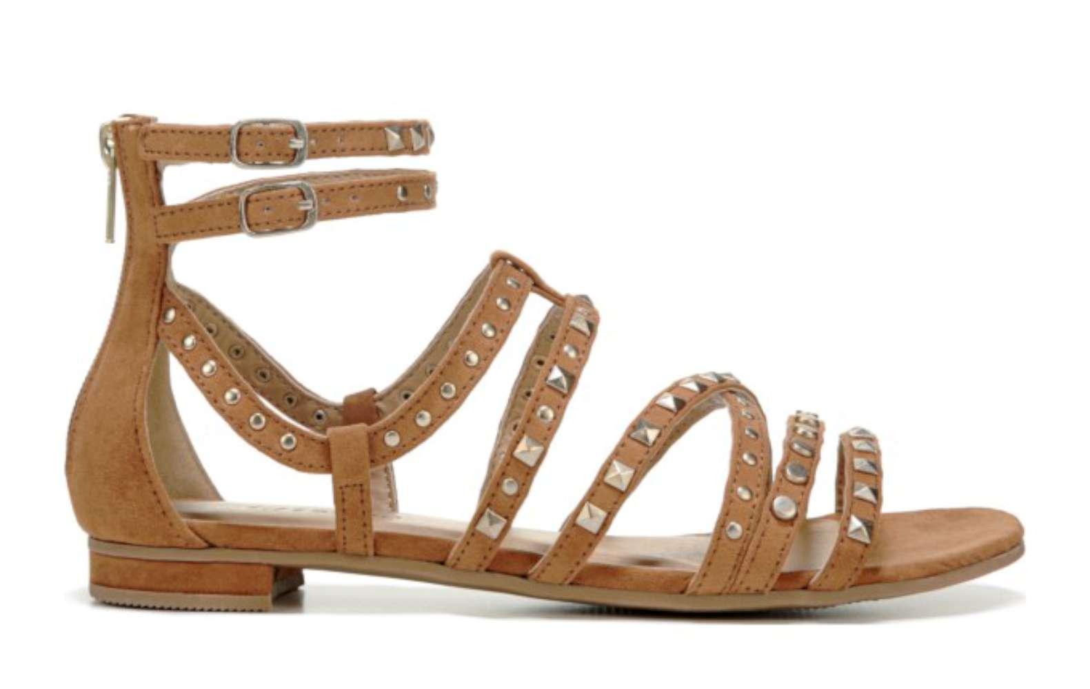 75e7ce9f35d Zigi Soho Womens Pearlie Leather Open Toe Casual Strappy Sandals