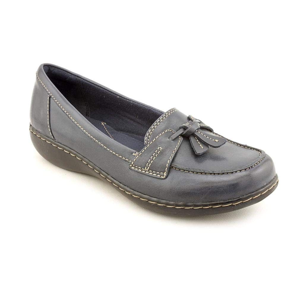 4a712d8b18c Clarks Womens Ashland Bubble Leather Closed Toe Loafers