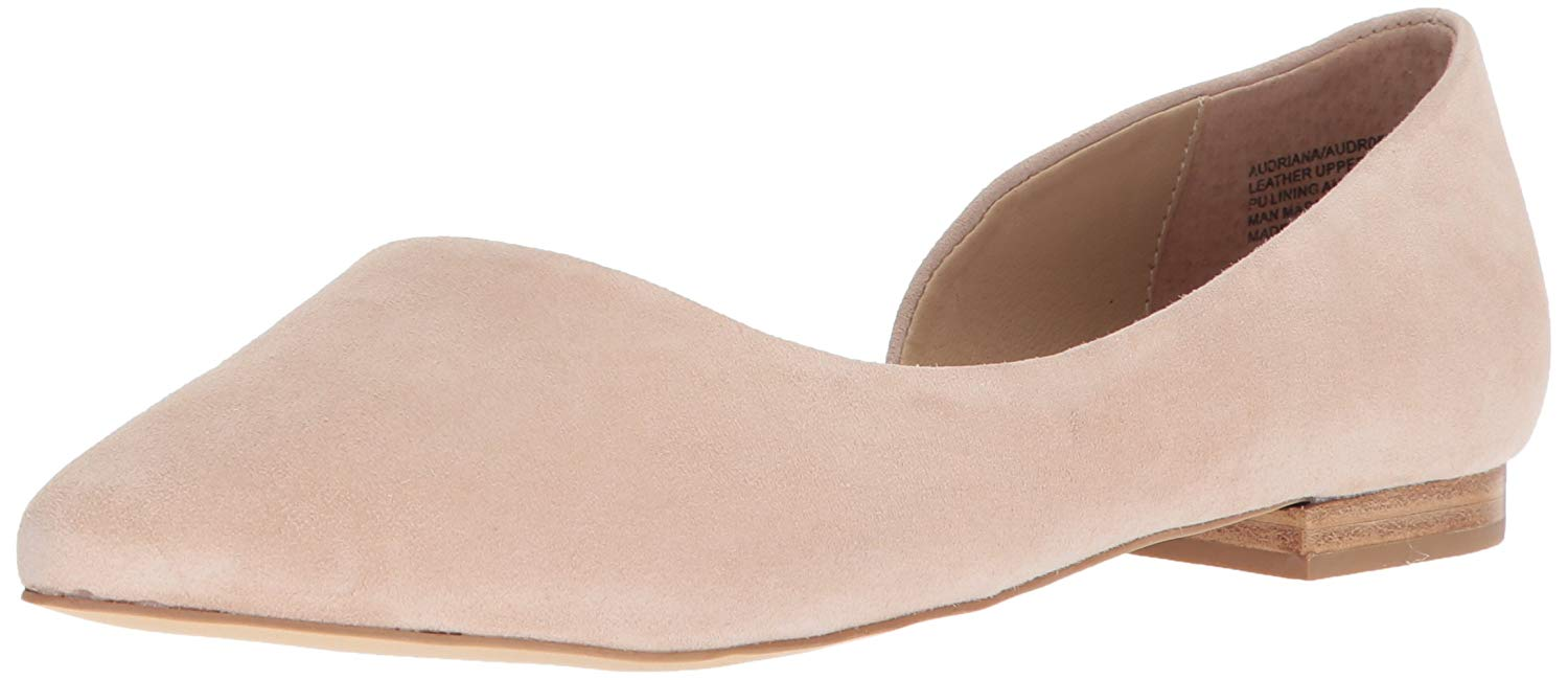 723440c0d92 Details about Steve Madden Womens Audriana Leather Closed Toe Slide,  Natural Suede, Size 8.0 E