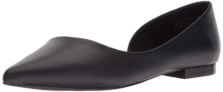 cc97b6be03d Steve Madden Womens Audriana Leather Closed Toe Slide Flats