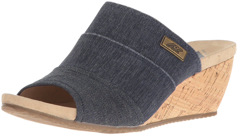 Anne Klein Damenschuhe Chanay Fabric Open Toe Casual Slide Sandales