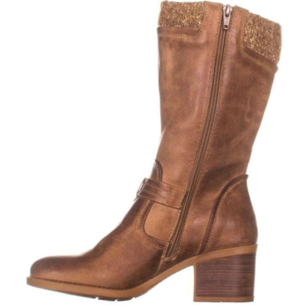 Bare Traps mujer Weslin Closed Toe Mid-Calf Fashion botas, Taupe, Talla 8.5 5mqc