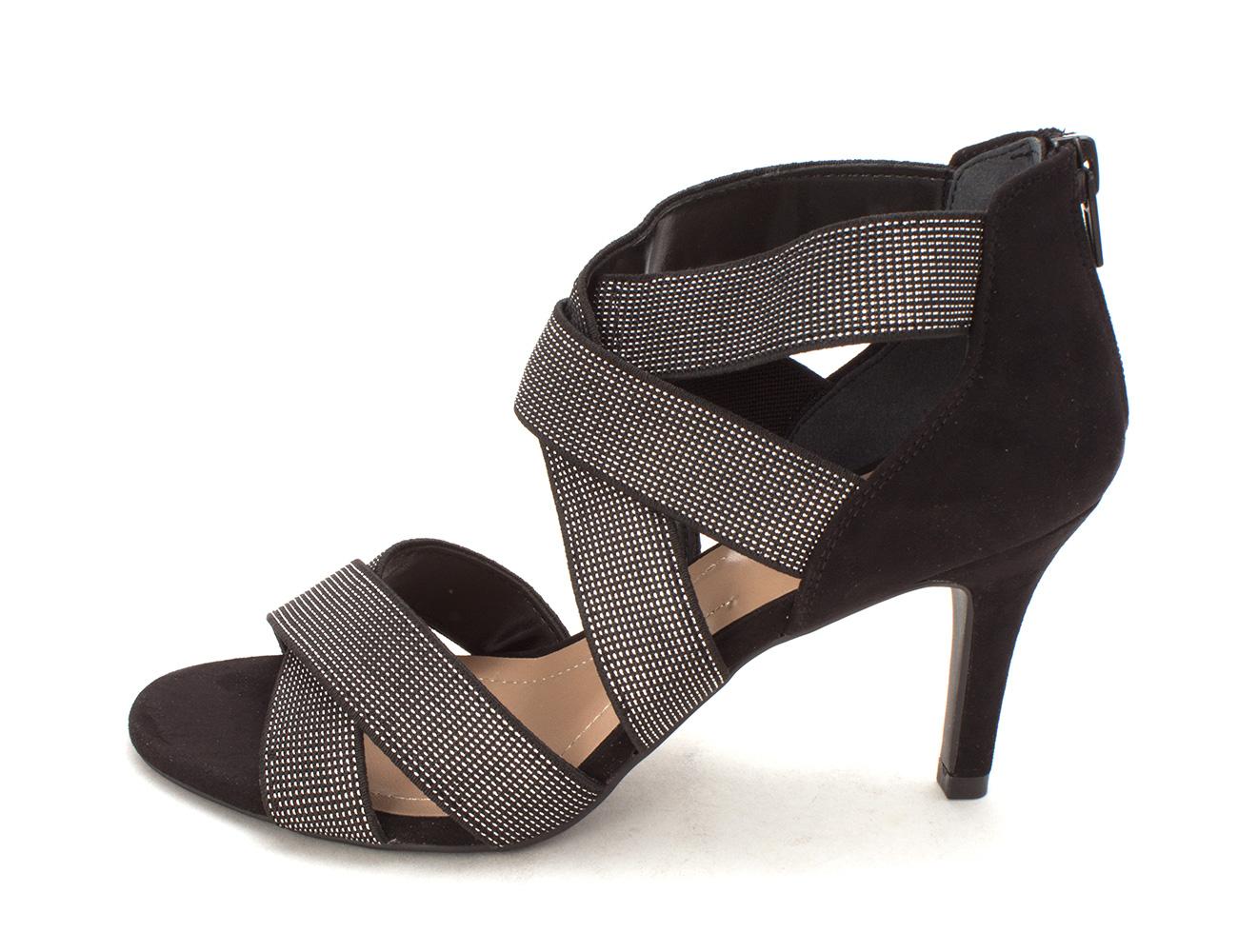 Style Co. Womens Celeste Open Toe Classic Pumps Black Size 6.0