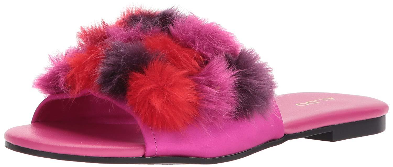 1daa4c036d5 Femmes Aldo Slide Chaussures Couleur Rose Fushia Miscellaneous ...