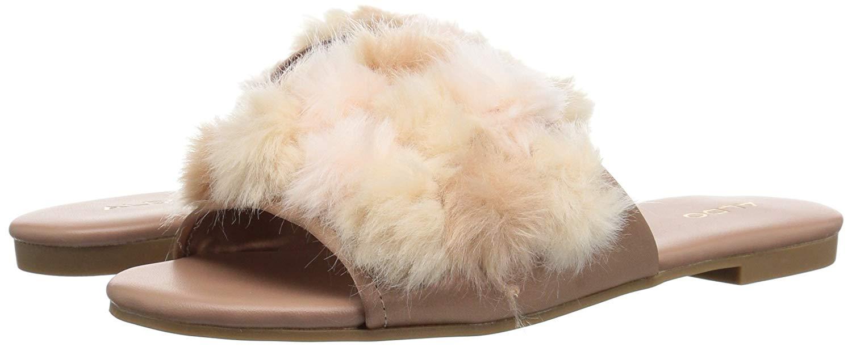 304701e2870 ALDO Women s Pompom Slide Sandal