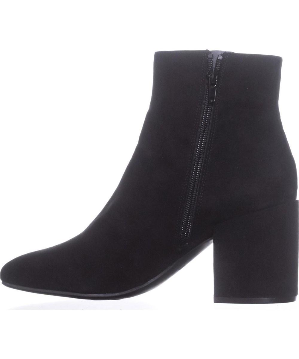 40e533a50 Bar III Womens Gatlin Fabric Closed Toe Ankle Fashion Boots, Black, Size  9.5 nFk