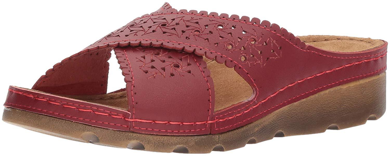 ca67cdbbf64 Flexus by Spring Step Womens Passat Open Toe Casual Slide Sandals ...
