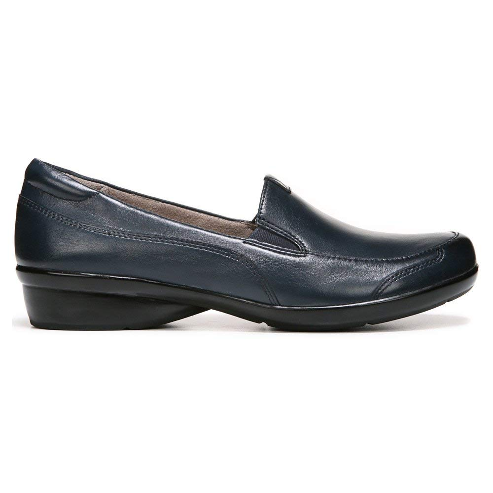a0dec5791eb Naturalizer Womens channing Leather Almond Toe Loafers