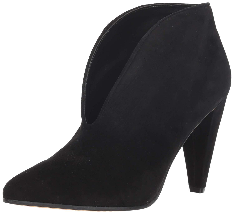 Vince-Camuto-Womens-Eckanna-Leather-Almond-Toe-Ankle-Fashion-Black-Size-7-0-Hj