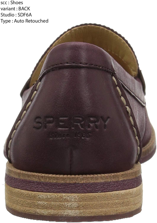 Sperry Women's Seaport Penny Loafer, Wine, Size 5.5 | eBay