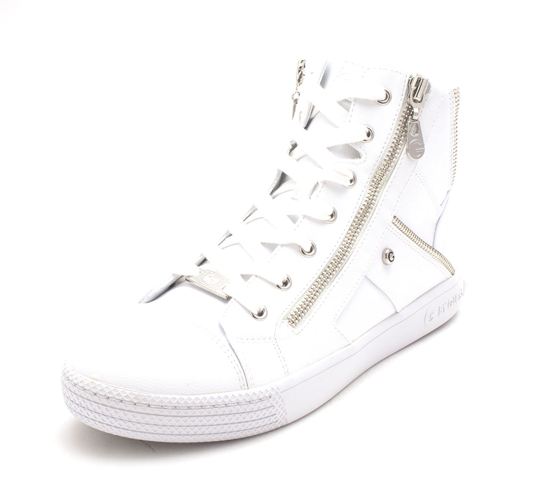 G By Guess da Donna Maker Hight TOP Lacci Scarpe Da Basket