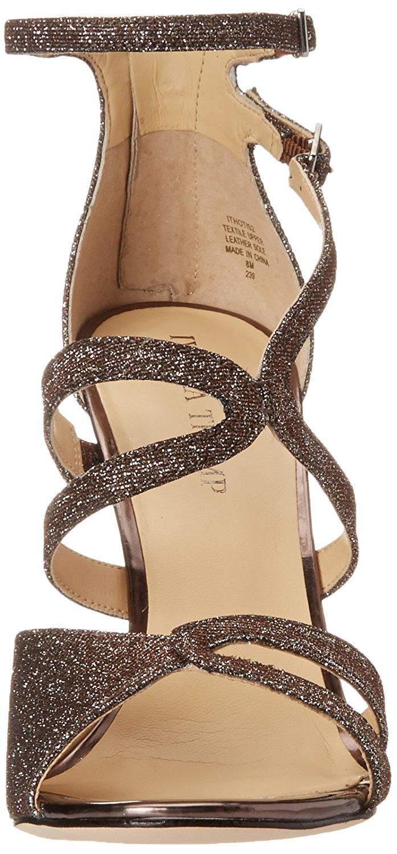 Ivanka Trump Womens Hotis 2 Open Toe Formal Strappy Sandals Bronze Size 100 5
