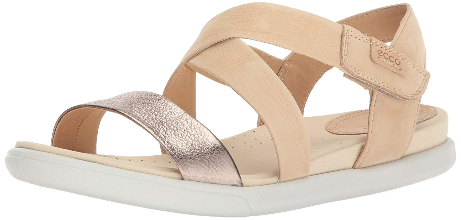 8edc029e158f ECCO Womens Damara Closed Toe Casual Ankle Strap