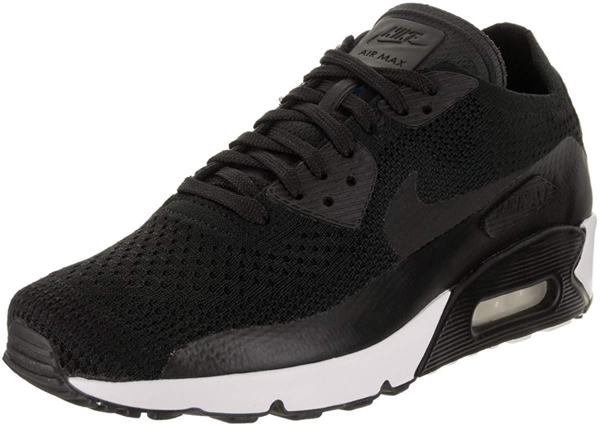 Mens Black & White Nike Air Max 90 Ultra 2.0 SE Shoe