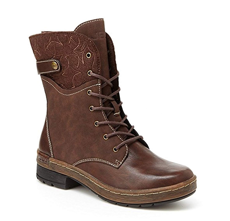 ba56eeb8e8211 Details about JBU Womens Hemlock Cap Toe Mid-Calf Fashion Boots