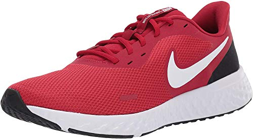 recompensa sorpresa Mal uso  Nike Para hombres Zapatos Nike Revolution 5 Low Top de Tela, Gimnasio Rojo/Whiteblack,  tamaño 6.0   eBay