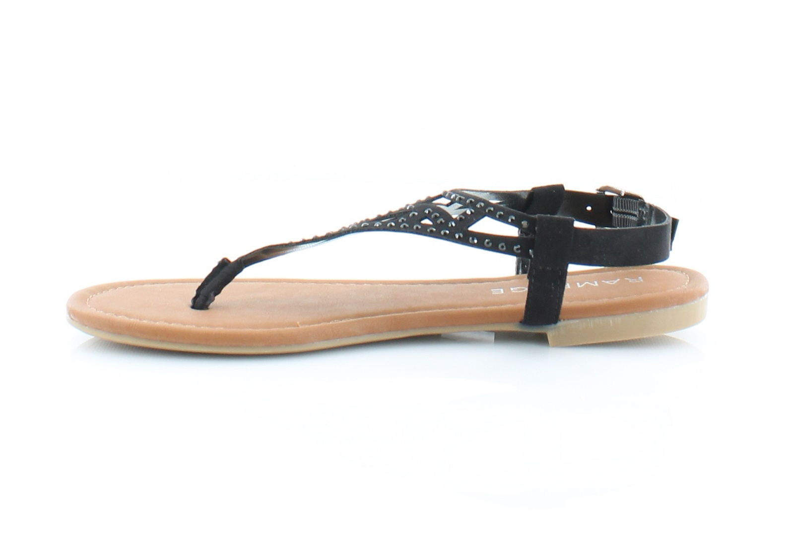 Rampage Womens Pattie Split Toe Casual TStrap Sandals
