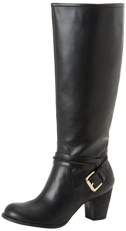 Nine West Inoesco Womens Boots Black Synthetic 6.5  US / 4.5 UK