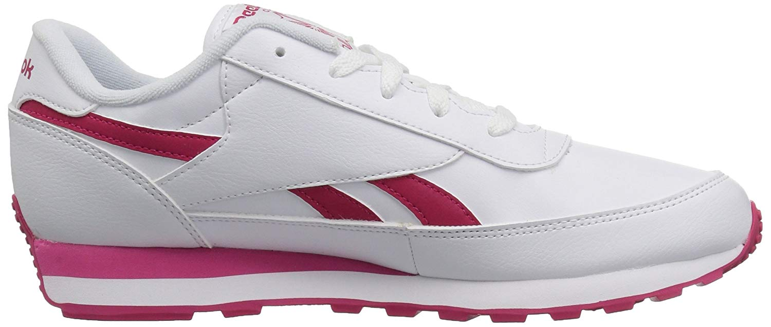 3c8658ae1506df Reebok Womens Renaissance Leather Low Top Lace Up