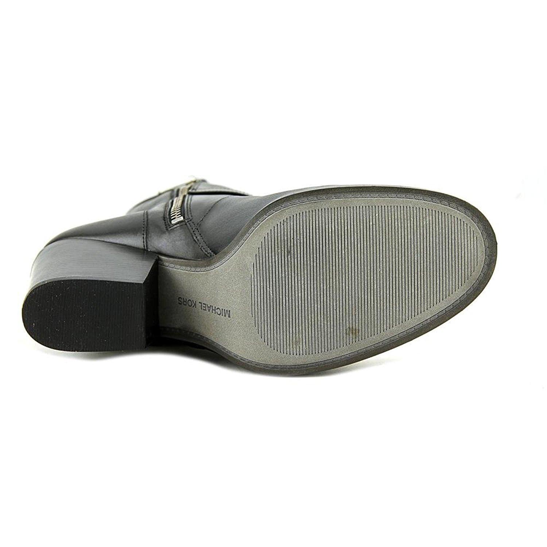 webbplats för rabatt till salu höstskor MICHAEL Michael Kors Womens ASHTON Mid Bootie Leather, Black ...