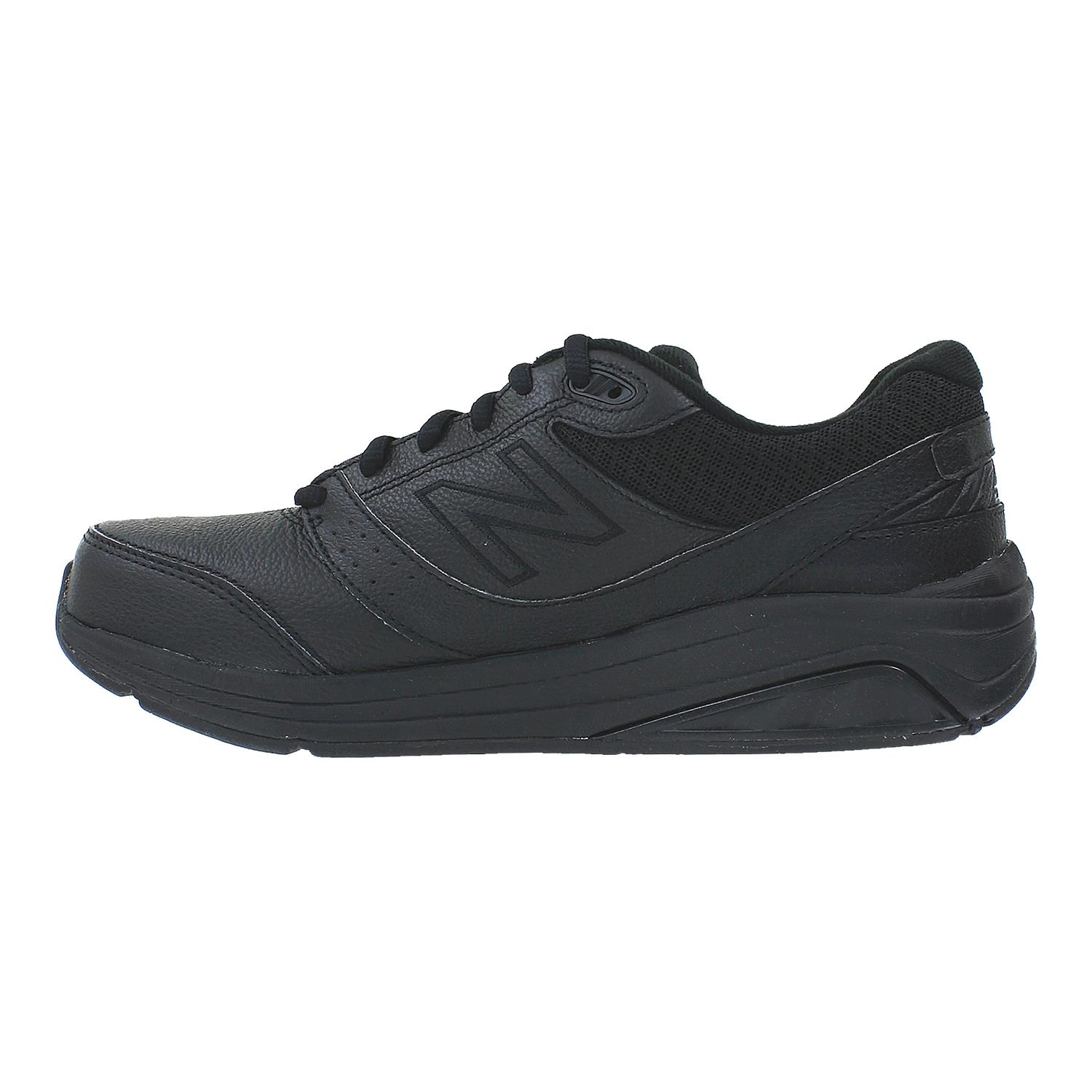 New Balance Womens WW928BK2 Low Top Lace Up Walking Shoes Black Size 5.5