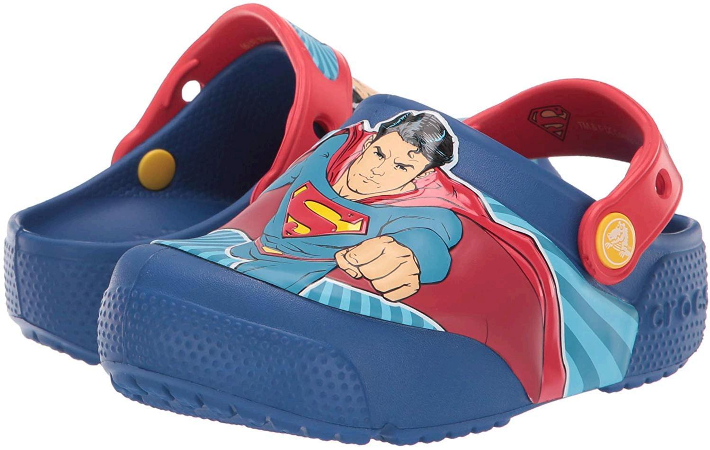 Crocs Kids Boys and Girls Marvel Superheroes Light Up Clog