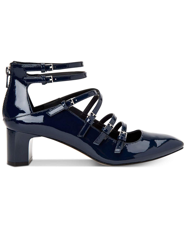 d167e2671a8 Calvin Klein Madlenka Patent Womens Heels   Pumps Deep Navy 7.5 US   5.5 UK