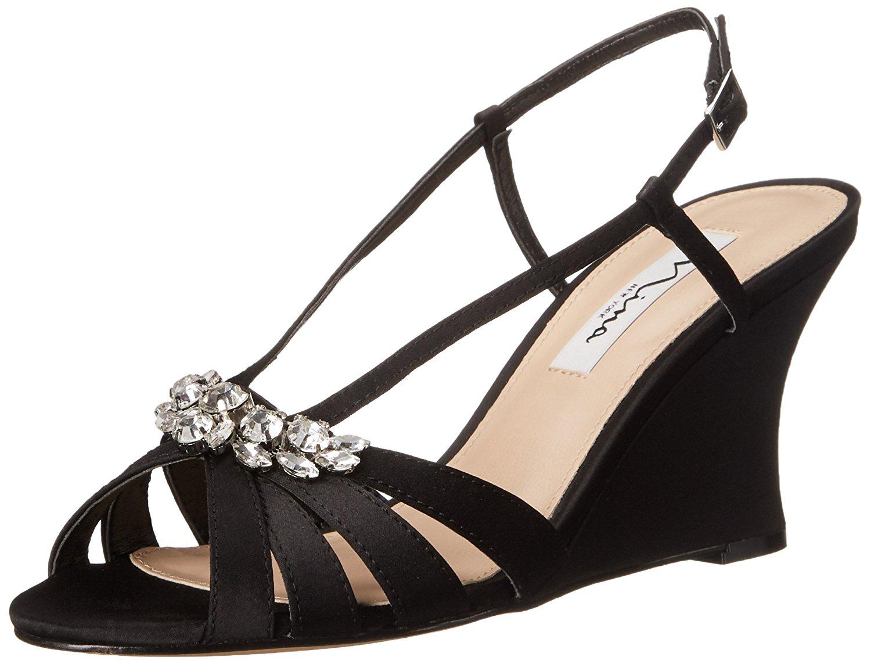Nina Womens Viani Platform Peep Toe Special Occasion Platform Viani Sandals b19704