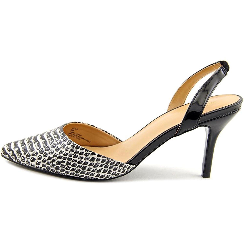 Thalia Sodi Womens Lola Pointed Toe SlingBack Classic Pumps Black Size 9.5